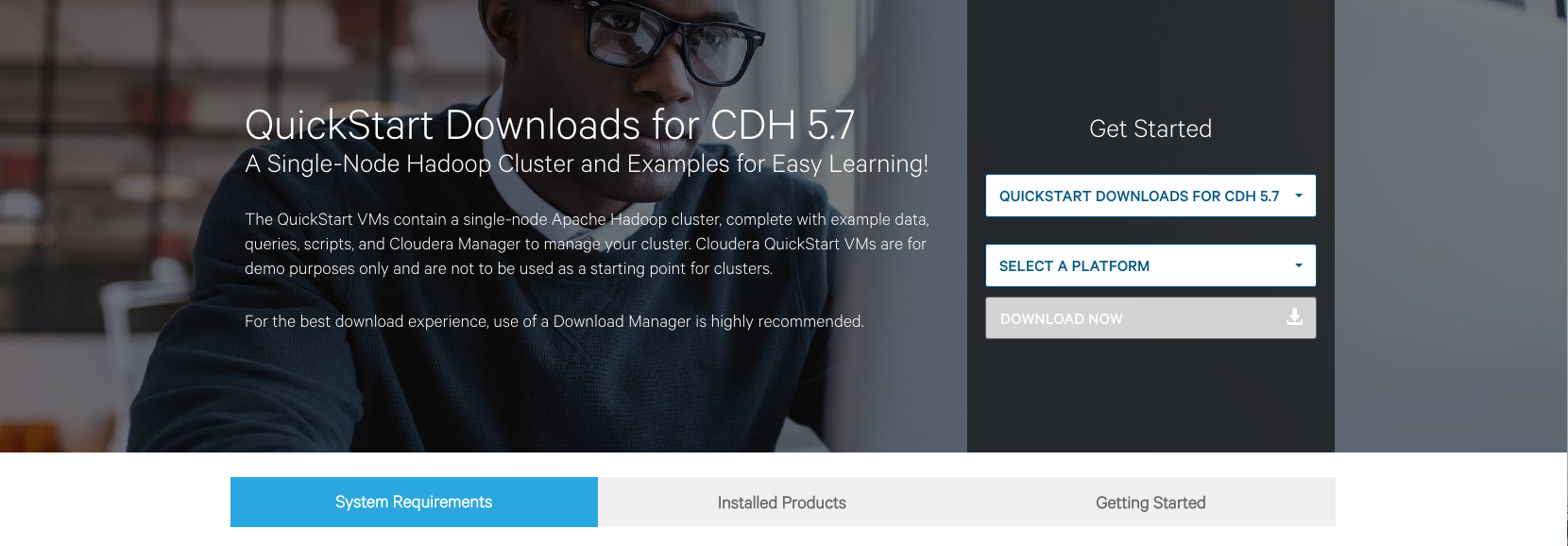 Cloudera Downloads Html